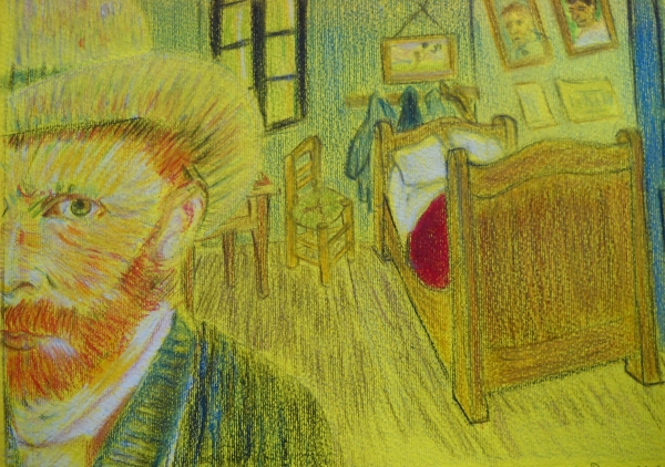 Vincent van Gogh by biaky10